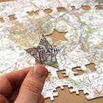 World's Greatest Dad Map Jigsaw