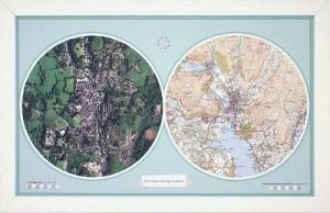 Aero carto map
