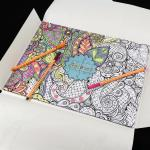 Coloring in adult jigsaw