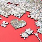 I Love You map jigsaw